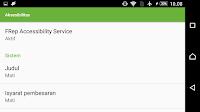 cara aktifkan aksesibilitas frep di android