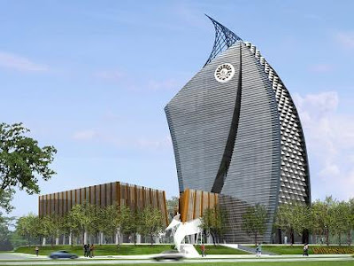 Phinisi Tower, Makassar karya Yu Sing