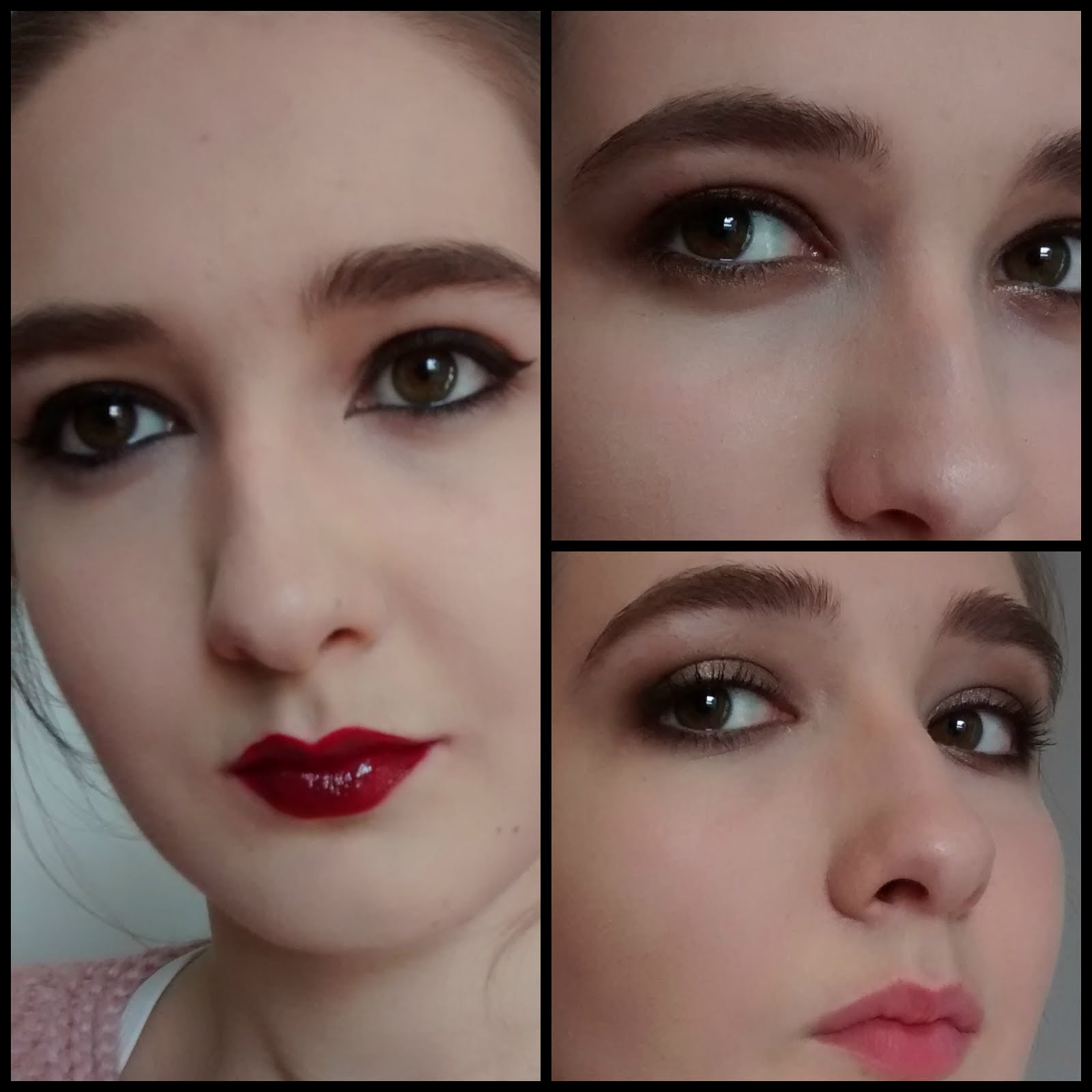 Quick Party Makeup 3 ways - Rouge