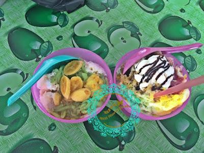 pondok style, sungai ara, laksa thai, cendol pisang, nasi kerabu, nasi pandan, laksa utara sedap, pulut ayam dan pulut mangga, makan sedap penang, makan best penang, port lepak time lunch, makan murah, makan berbaloi