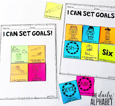 Goal setting for students can promote focus on the learning process, rather than the outcome. Setting goals in the primary classroom can be easy!