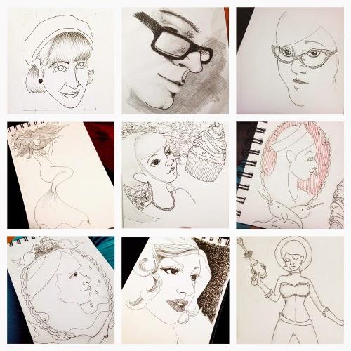 Sketchbook Round-Up: Volume 3 | Yeti Crafts