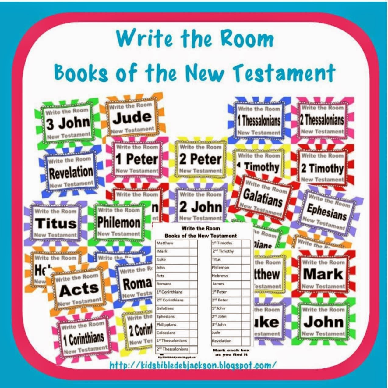 Bible Fun For Kids Write The Room Life Of Moses