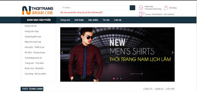 Share mẫu template blogspot bán hàng đẹp mất phí 0 đồng