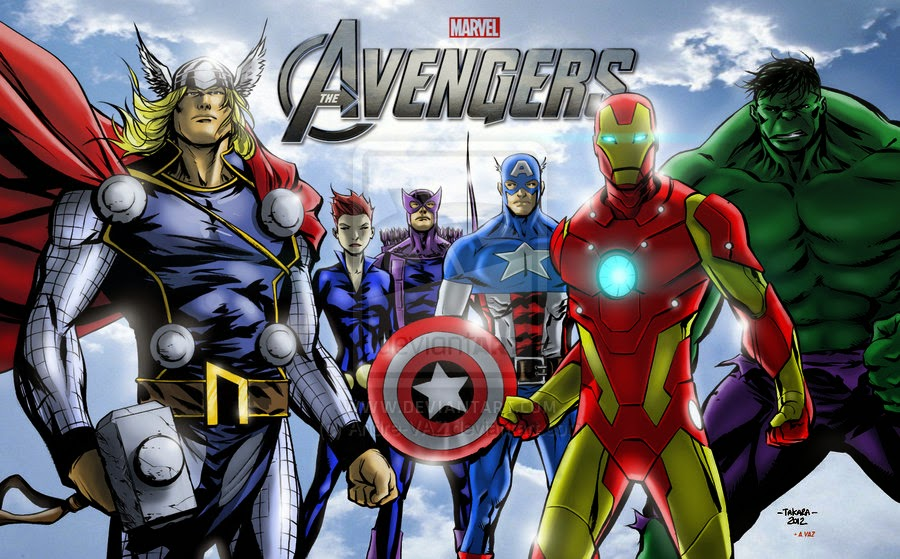 Avengers Animated Wallpaper Avenger Assemble Film Animation Cartoon Hd