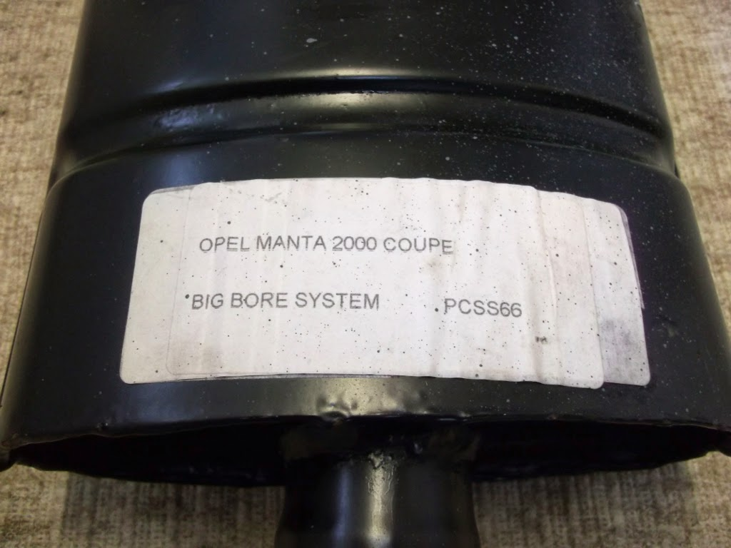 November 2014 Classic Opel Spares Rekord E Wiring Diagram For Sale Manta Coupe 2000 Big Bore Exhaust System