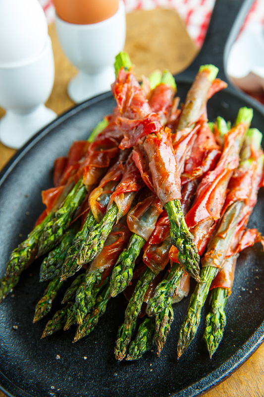 Crispy Prosciutto Wrapped Asparagus Fries Recipe
