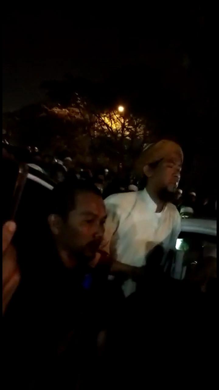 Innalillahi... Habib Bahar Ditahan di Mapolda Jabar