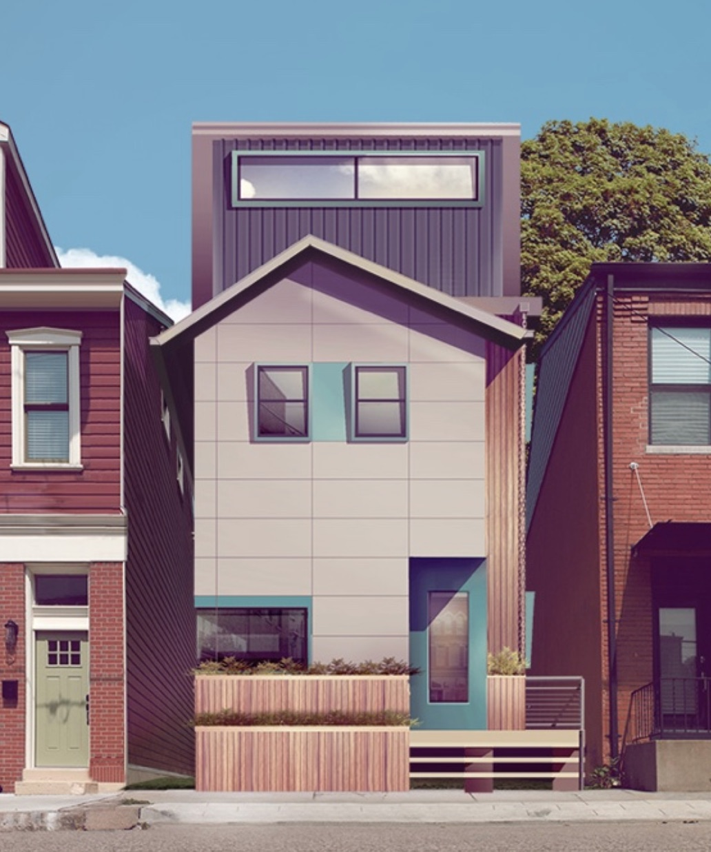 urban home design. Pittsburgh Startup Module Designs Urban Homes With Energy Saving  Sustainable Design Features PA Environment Digest Blog