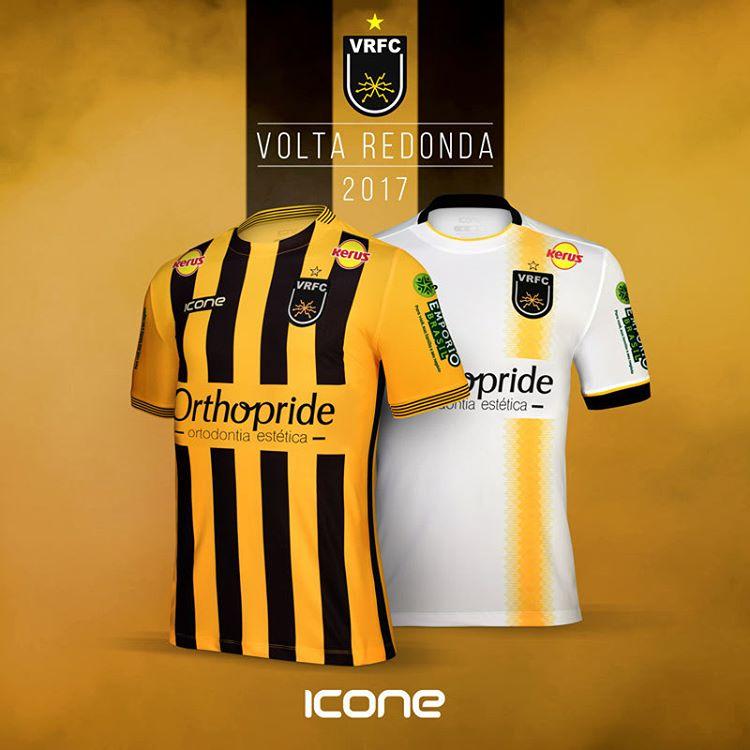 Ícone Sports lança as novas camisas do Volta Redonda - Show de Camisas 949891afa7ba2