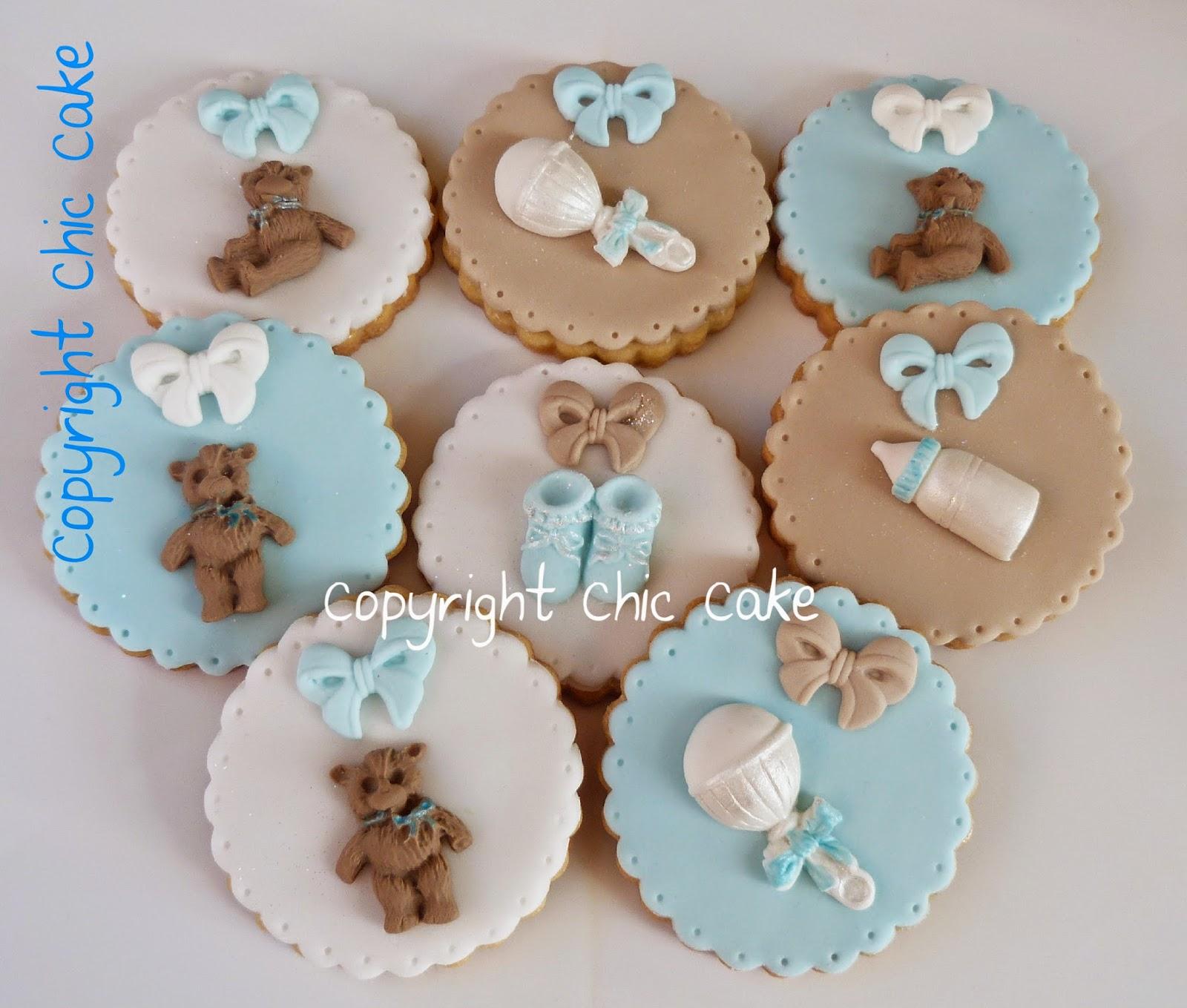 spesso Chic Cake: Biscotti decorati Battesimo GO32
