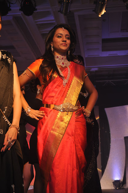 Trisha latest photo shoot At NAC Jewellers Press Conference & Fashion Show