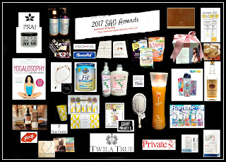Gloss & Toss DETANGLE BRUSH given to SAG AWARDS NOMINEES in HOLLYWOOD SWAG BAGS.