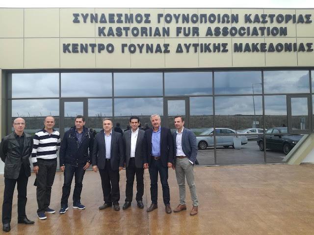 Στη Δυτική Μακεδονία, Κοζάνη, Kαστοριά, Φλώρινα, Γρεβενά, περιόδευσε ο Γιάννης Μανιάτης