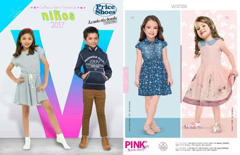 Price Shoes Catálogo Ropa de Niños Verano 2017