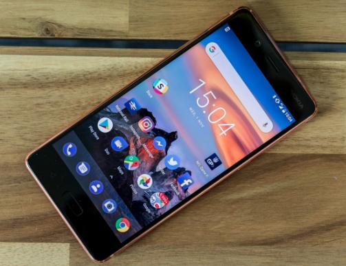 Desain Nokia 8