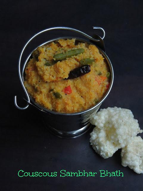 Couscous Dal Bhath