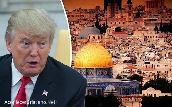 Donald Trump reconoce a Jerusalén como capital de Israel