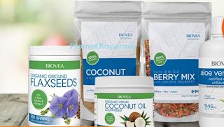 Logo Vinci gratis prodotti Biovea per creare pasti più sani
