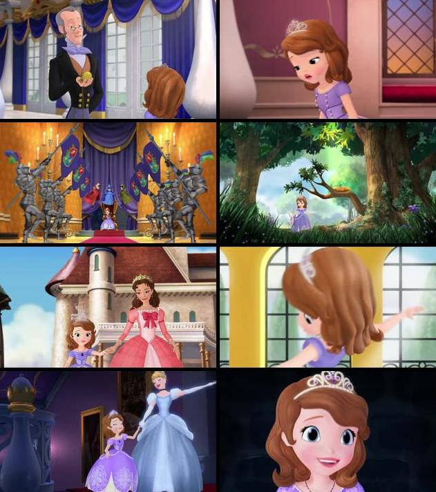 Sofia The First Once Upon A Princess 2012 Dual Audio Hindi 720p WEB-DL