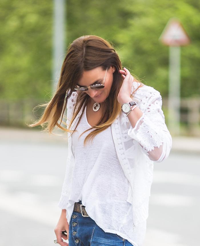 chaqueta encaje , The Amity Company, estilo , Lucía Díez ,es cuestión de estilo.