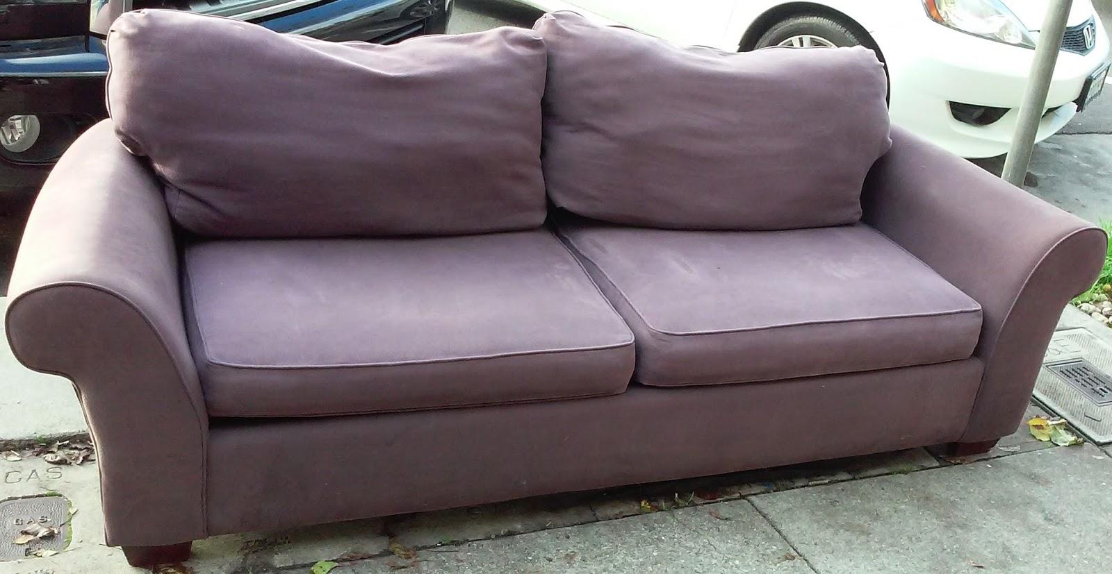 Broyhill Sofa Nebraska Furniture Mart Luxury Corner Bed Uk Uhuru And Collectibles Sold Plum 80