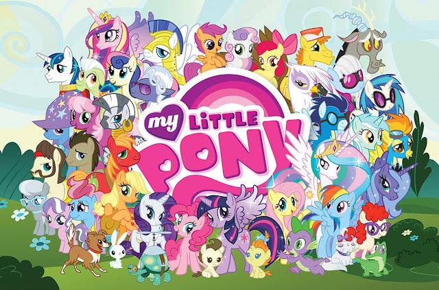 Desenhos para Colorir O Meu Pequeno Ponei – My Little Pony