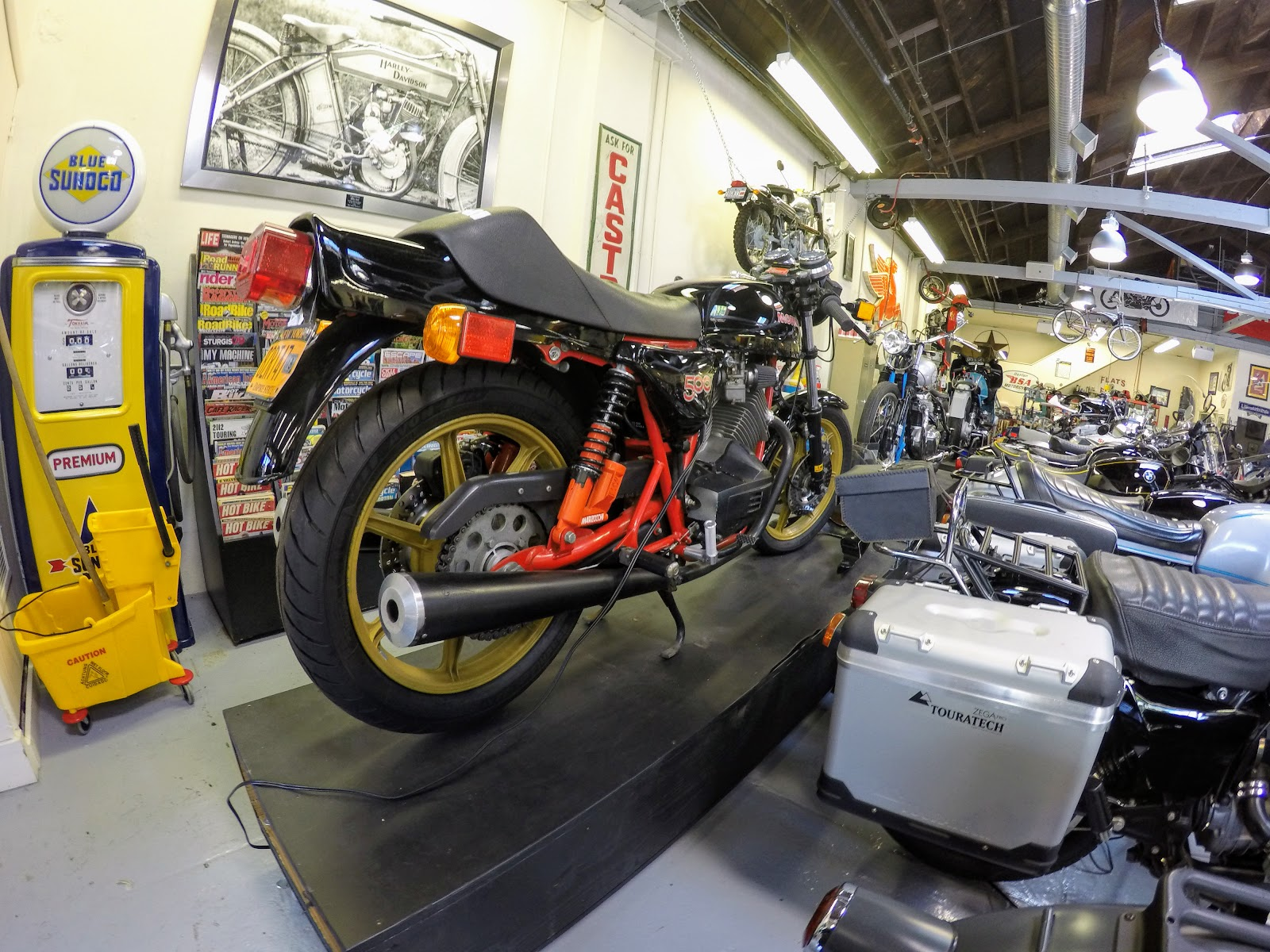 NYDUCATI presents Billy Joel's 20th Century Cycles Moto Morini