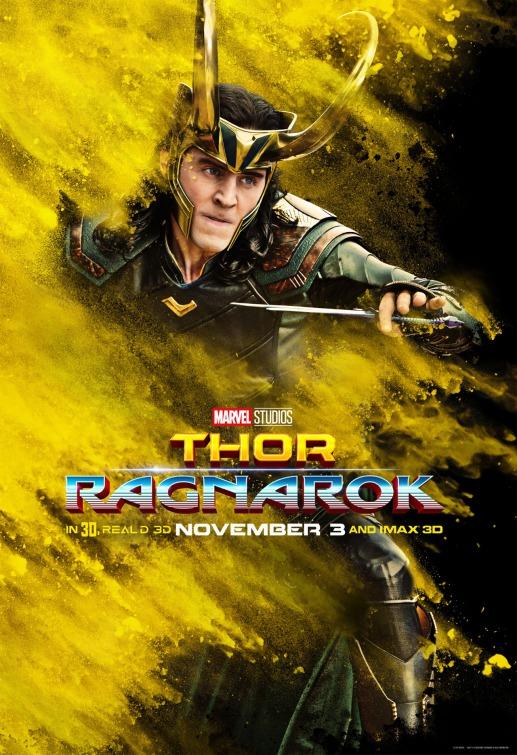 Thor Ragnarok Loki poster