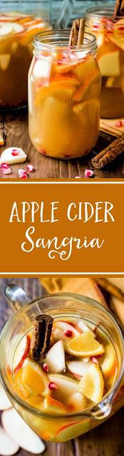 Apple Cider Autumn Sangria