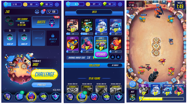 Total Size Game android Orbital 1 - Game Strategi Real Time Yang simple!