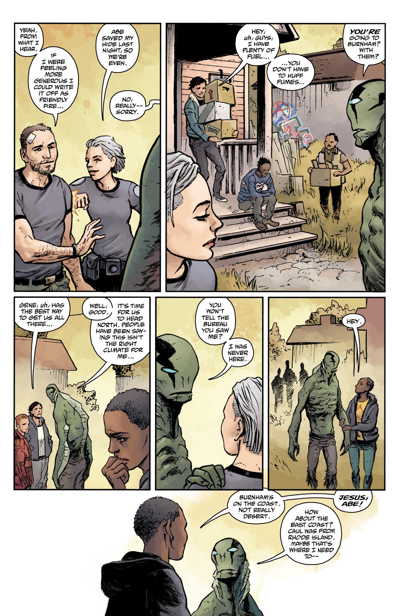 Read online Abe Sapien comic -  Issue #17 - 21