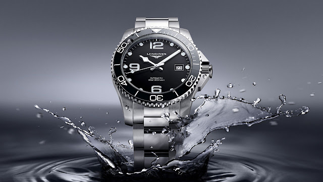 Longines HydroConquest Automatic Watch Black