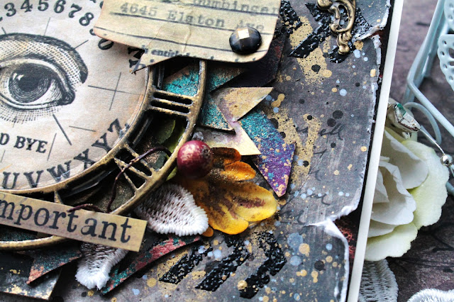 @marina.syskova #mixedmedia #scrap #scrapbooking #card #7dotsstudio