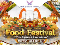 The Taste of Ramadhan 2017 at Mall Alam Sutera