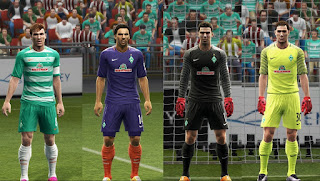 Kits Werder Bremen 2016-2017 Pes 2013 By Vulcanzero