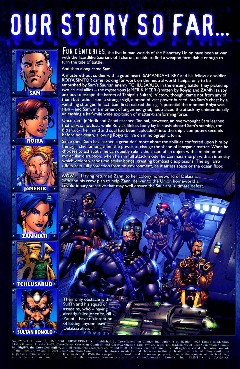 Read online Sigil (2000) comic -  Issue #12 - 4