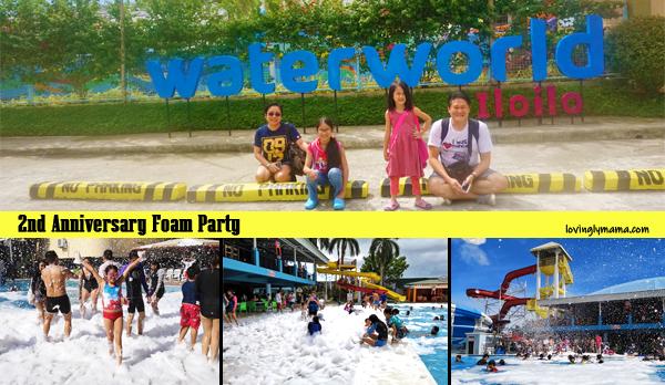 WaterWorld Iloilo 2nd Anniversary foam party - family travel - Iloilo City - Iloilo resort - Iloilo water park -Iloilo hotel- Bacolod blogger - Bacolod mommy blogger - Eon Centennial Resort Hotel