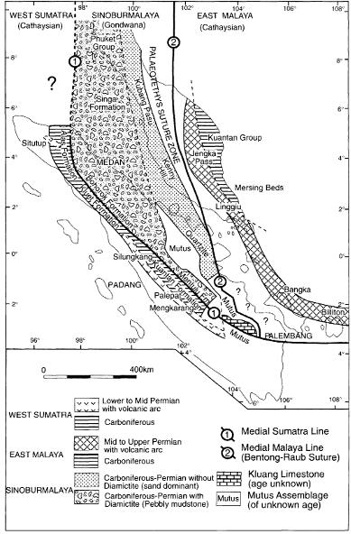 Tectonic Unit of Sumatra