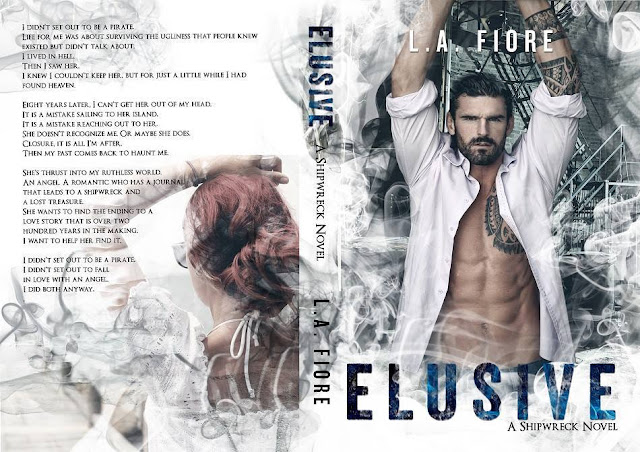 [New Cover] ELUSIVE by LA Fiore @lafioreauthor @TheNextStepPR #UBReview