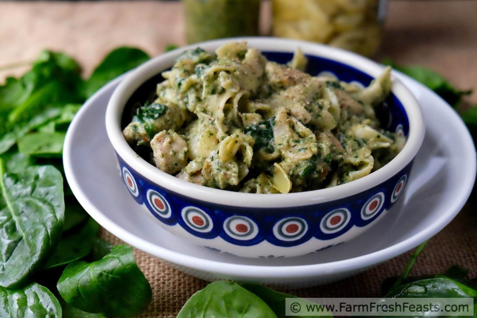 recipe: marinated artichoke hearts pasta [5]