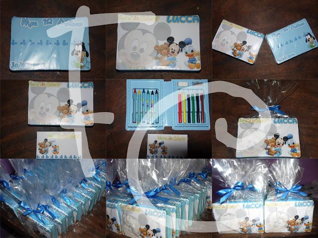 Kit Colorir com estojo e livrinho - Pequeno - Disney Baby