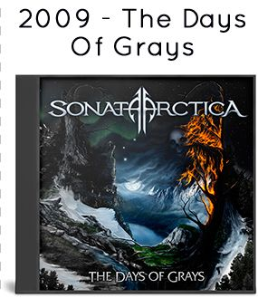 2009 - The Days Of Grays [Japan + Limited Edition]