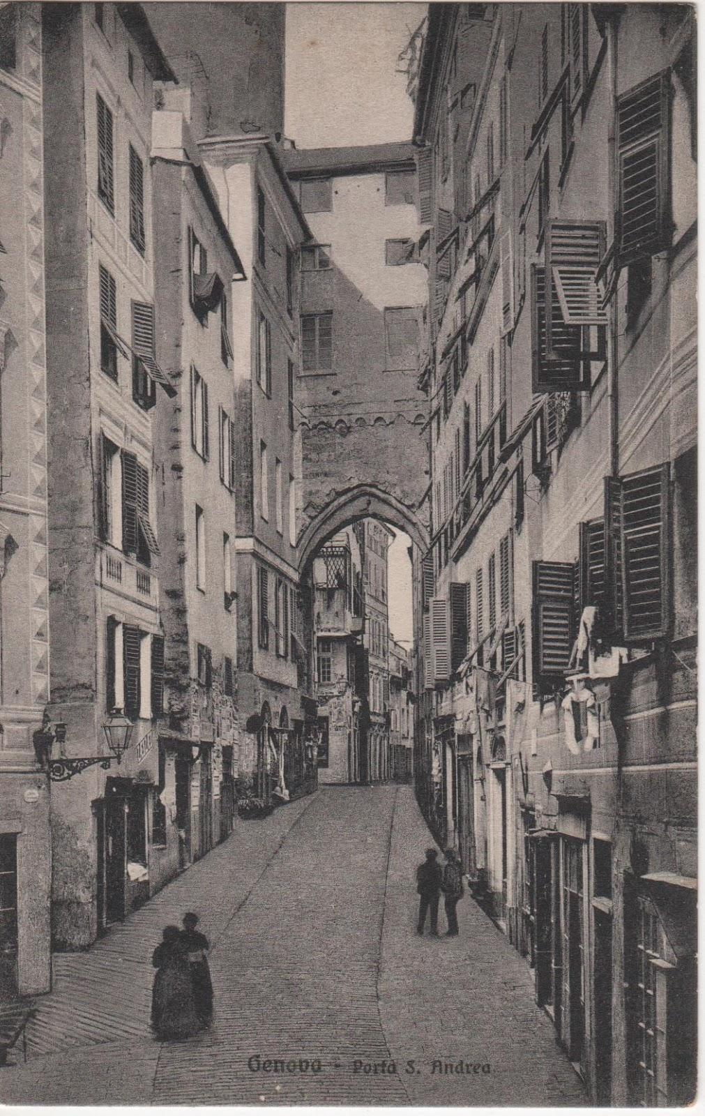C 39 era una volta genova via dante e piazza dante for Casa moderna zurigo