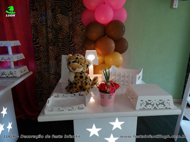 Festa de aniversário tema Oncinha