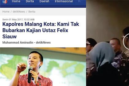 Tak Akui Bubarkan Kajian Felix Siauw, Polisi Diingatkan Surat Yasin Ayat 65! Bunyinya Mengejutkan