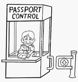 Army Life Travels: Airport Parking and Passport Control
