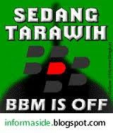 DP Maaf Sedang Tarawih, Bbm is Off
