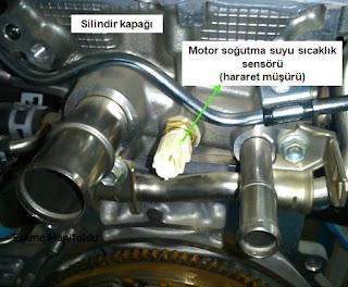 motor soğutma suyu sıcaklık sensörü
