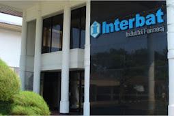 Lowongan Kerja Padang Oktober 2017: PT. Interbat (Farmasi)